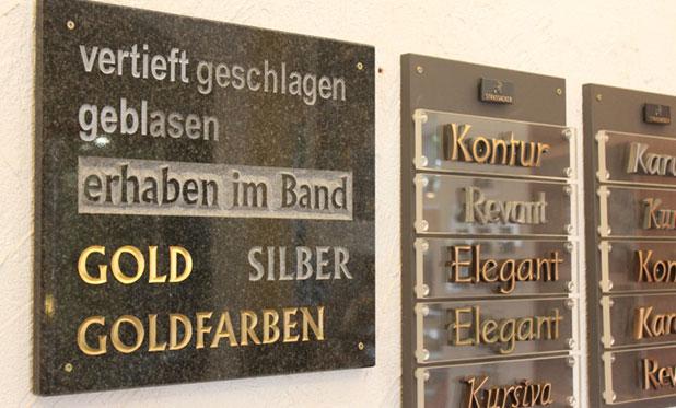 Ausstellung - Naturstein