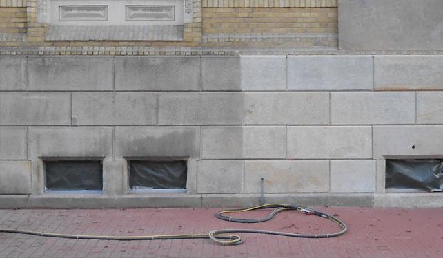 Steinmetz H. Wille - Restauration von Fassaden